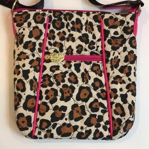 Betsy Johnson Purse Animal Print New without Tags